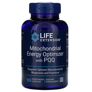 Лайф Экстэншн, Mitochondrial Energy Optimizer with PQQ, 120 Vegetarian Capsules отзывы покупателей