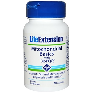 Life Extension, Mitochondrial Basics, with BioPQQ, 30 Capsules
