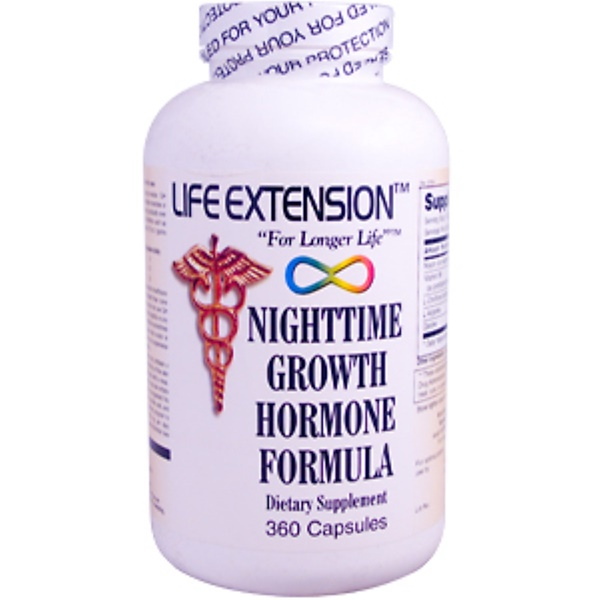Life Extension, Nighttime Growth Hormone Formula, 360 Capsules (Discontinued Item)