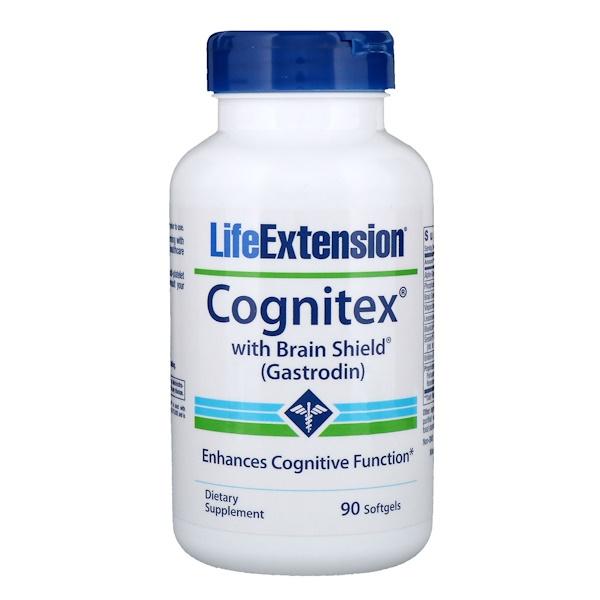 Life Extension, Cognitex含腦盾,90粒