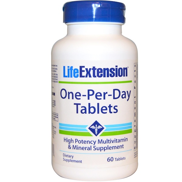 Life Extension, One-Per-Day Tablets, 60 Tablets (Discontinued Item)