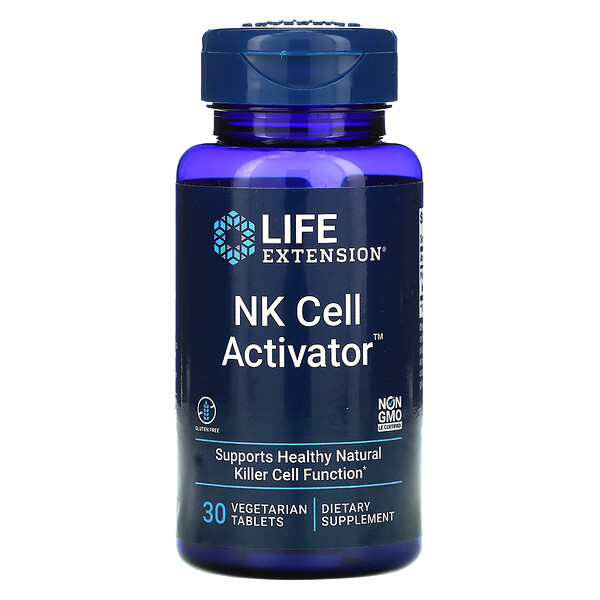 NK Cell Activator, 30 Vegetarian Tablets
