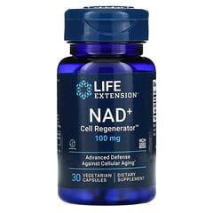 Life Extension, NAD+Cell Regenerator,100 毫克,30 粒素食膠囊