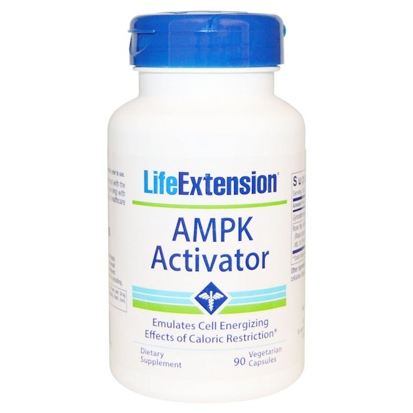 Life Extension, AMPK Activator, 90 Veggie Caps (Discontinued Item)
