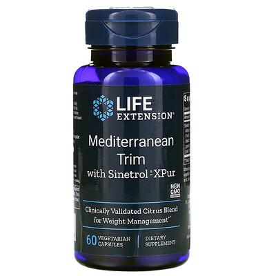 Купить Life Extension Средиземноморский уход Sinetrol-XPur, 60 вегетарианских капсул