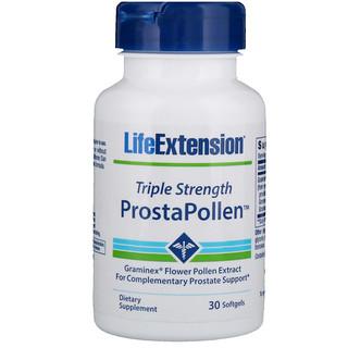 Life Extension, 프로스타폴렌, 트리플 강도, 30 소프트젤