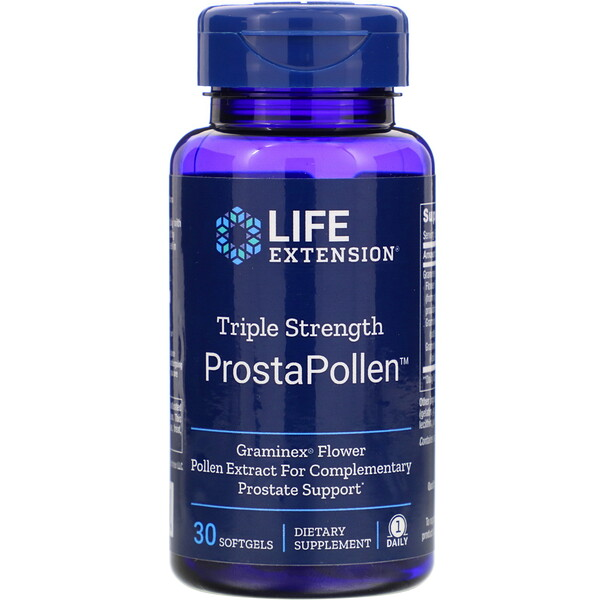 ProstaPollen, Triple Strength, 30 Softgels