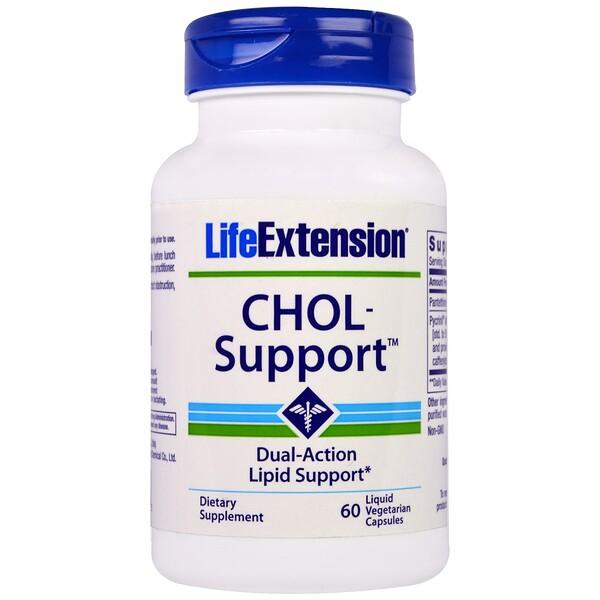 Life Extension, CHOL-Support, 60 Liquid Veggie Caps (Discontinued Item)