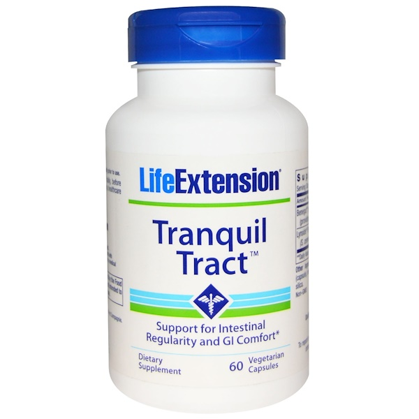 Life Extension, Tranquil Tract, 60 Veggie Caps (Discontinued Item)