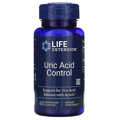 Купить Life Extension Контроль мочевой кислоты, 60 вегетарианских капсул