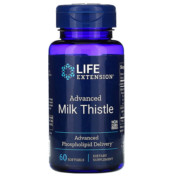 Advanced Milk Thistle, 60 Softgels