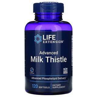 Life Extension, Advanced Milk Thistle, 120 Softgels