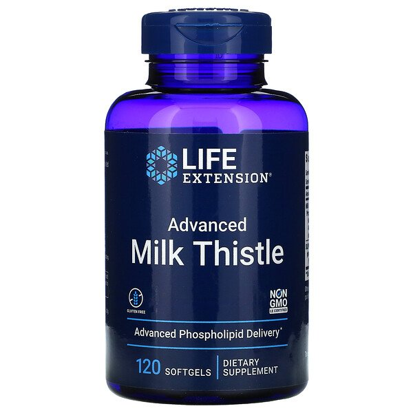 Advanced Milk Thistle, 120 Softgels