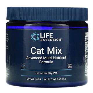 Life Extension, Cat Mix, Advanced Multi-Nutrient Formula, 3.52 oz (100 g)