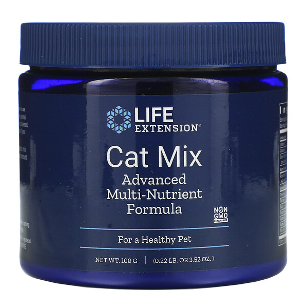 Cat Mix, Advanced Multi-Nutrient Formula, Multinährstoff-Formel für Katzen, 100 g (3,52 oz.)