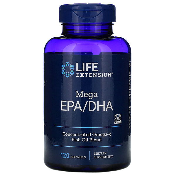 Mega EPA/DHA, 120 Softgels