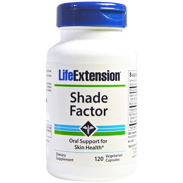 Life Extension, Shade Factor, 120 Veggie Caps