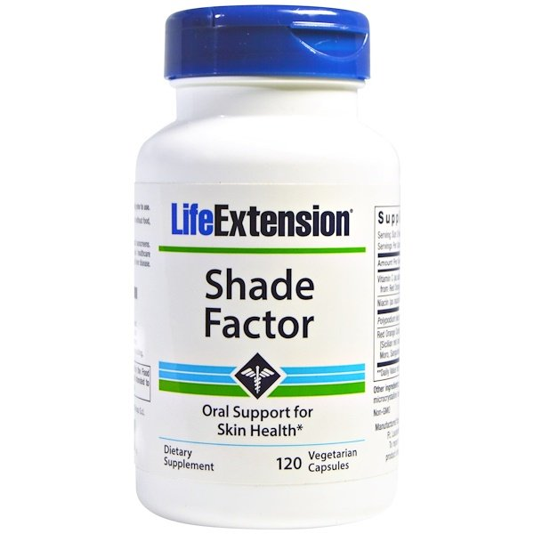 Life Extension, Shade Factor, 120 Veggie Caps (Discontinued Item)