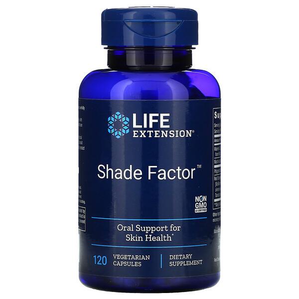 Shade Factor, 120 Vegetarian Capsules