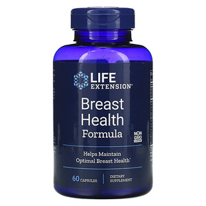 Лайф Экстэншн, Breast Health Formula, 60 Capsules отзывы