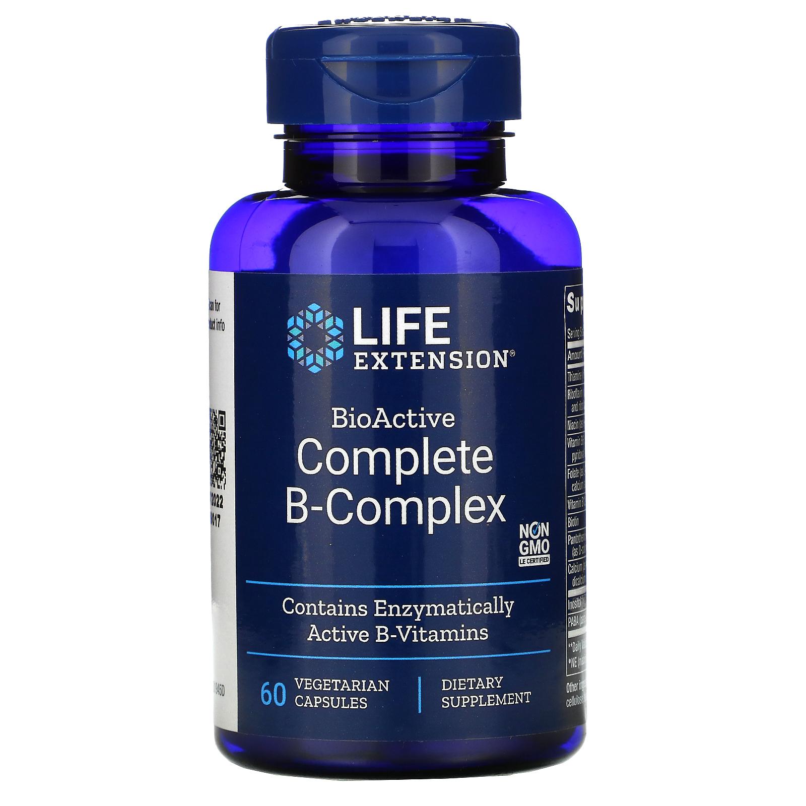Kosttilskuddet BioActive Complete B-Complex