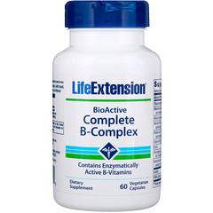 Life Extension, BioActive Complete B-مركب، 60 كبسولة نباتية
