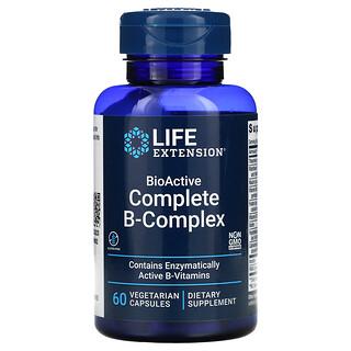Life Extension, BioActive Complete B-Complex, 60 Vegetarian Capsules