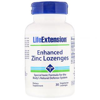 Life Extension, Enhanced Zinc Lozenges, 30 Vegetarian Lozenges