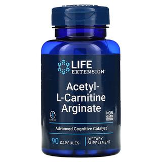 Life Extension, Acetyl-L-Carnitine Arginate, 90 Capsules