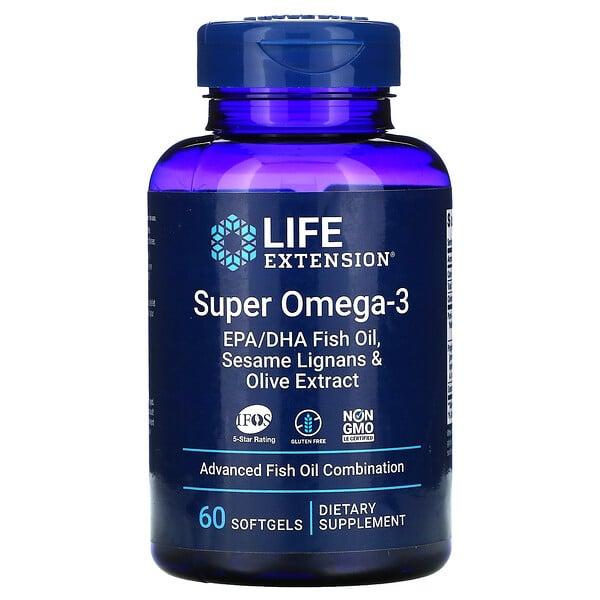Super Omega-3, 60 Softgels