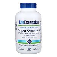 Omega Foundations, Super Omega-3, 240 таблеток в мягкой оболочке - фото