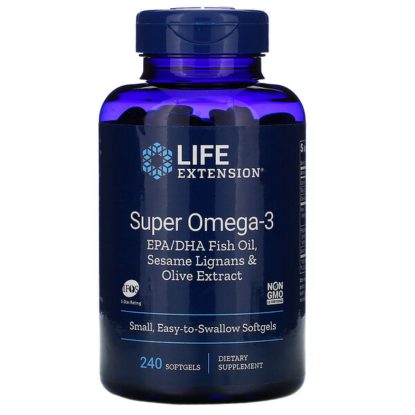 Super Omega-3, 240 Softgels
