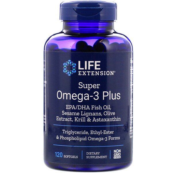 Super Omega-3 Plus, 120 Softgels
