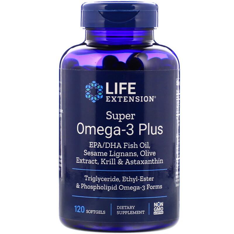 Super Omega-3 Plus, 120 Softgels