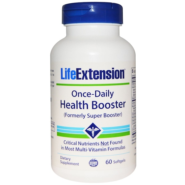Life Extension, Once-Daily Health Booster, 60 Softgels (Discontinued Item)