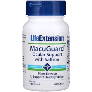 Life Extension, MacuGuard、眼のサポート、60ソフトジェル