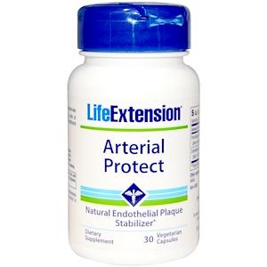 Life Extension, Артериальная защита, 30 вегетарианских капсул инструкция, применение, состав, противопоказания