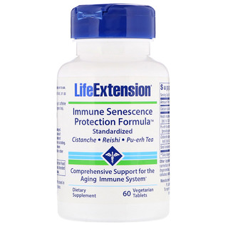 Life Extension, Immune Senescence Protection Formula, 60 Vegetarian Tablets
