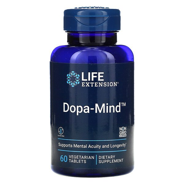 Dopa-Mind, 60 Vegetarian Tablets