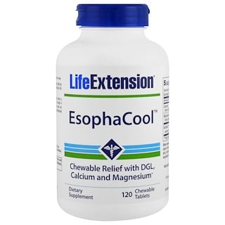 Life Extension, EsophaCool, 120 Chewable Tablets