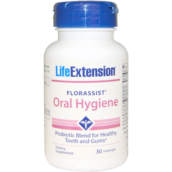 Life Extension, Florassist, Oral Hygiene, 30 Lozenges (Discontinued Item)