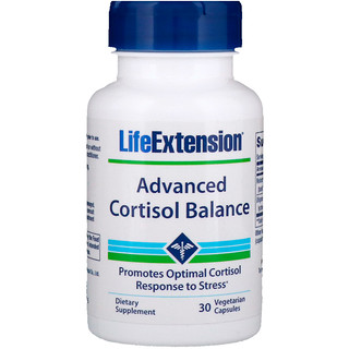 Life Extension, Advanced Cortisol Balance, 30 Vegetarian Capsules