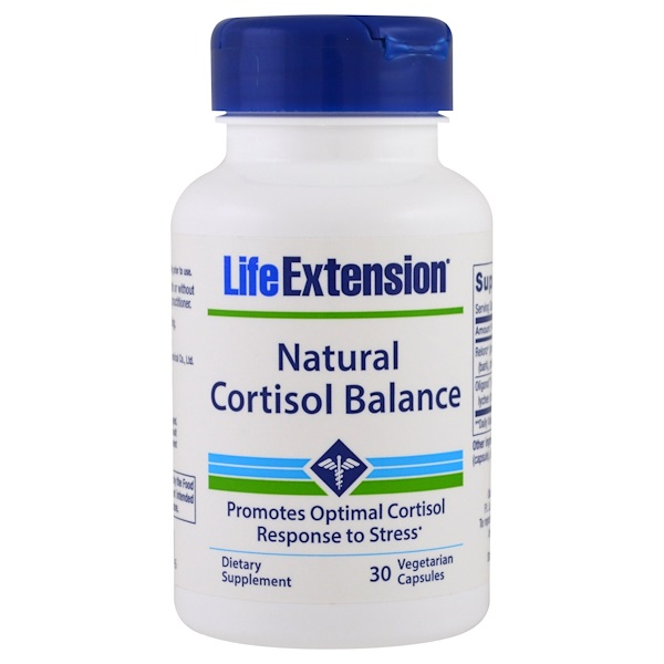Life Extension, Natural Cortisol Balance, 30 Veggie Caps