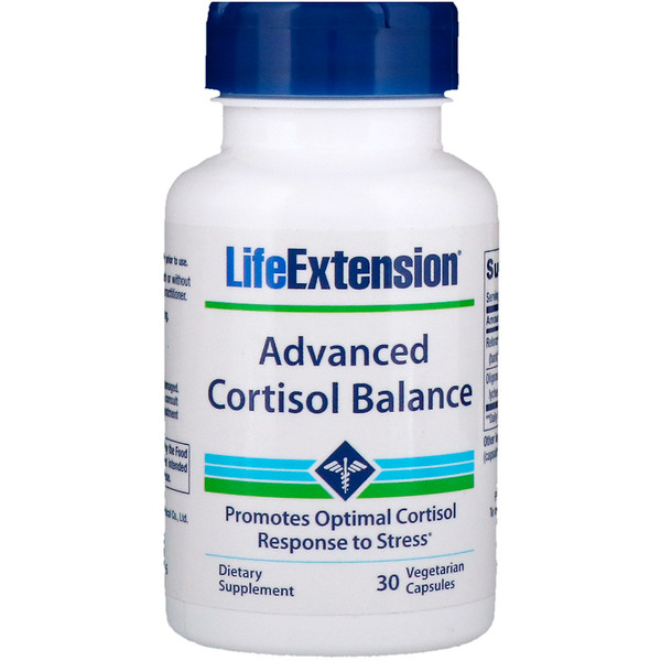 Life Extension, Advanced Cortisol Balance, 30 Vegetarian Capsules (Discontinued Item)