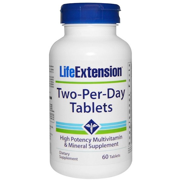 Life Extension, Two-Per-Day Tablets, 60 Tablets (Discontinued Item)