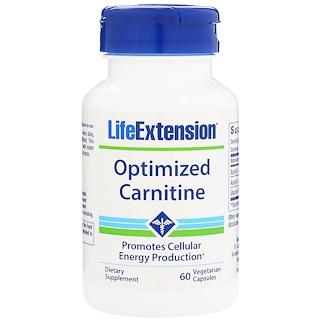 Life Extension, Optimized Carnitine, 60 Vegetarian Capsules