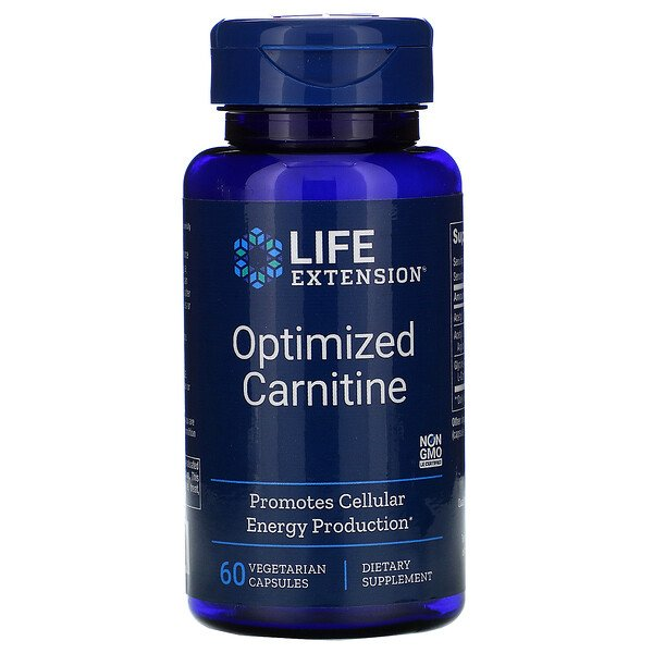 Optimized Carnitine, 60 Vegetarian Capsules