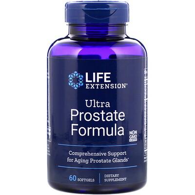 Ultra Prostate Formula, комплекс для поддержки простаты, 60мягких таблеток