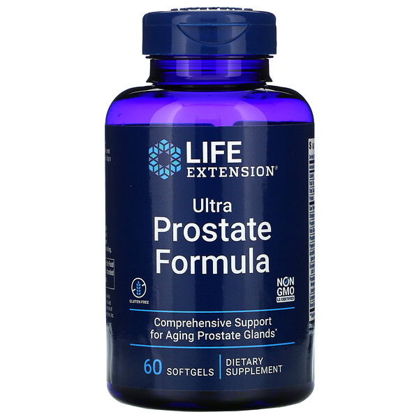 Ultra Prostate Formula, 60 Softgels