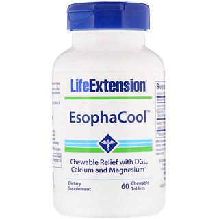 Life Extension, EsophaCool, 60 жевательных таблеток